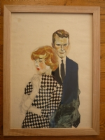 Hugo Pratt - Couple des ann�es 50  Comic Art