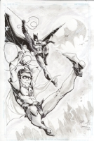 Batman and Robin - Freddie E. Williams II Comic Art