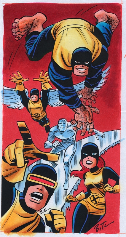 Bruce Timm Comic Art