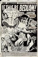 Amazing Spider-Man #74 Page 1 Splash!! Comic Art