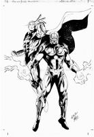 Nova & Quasar - Wellinton Alves Comic Art