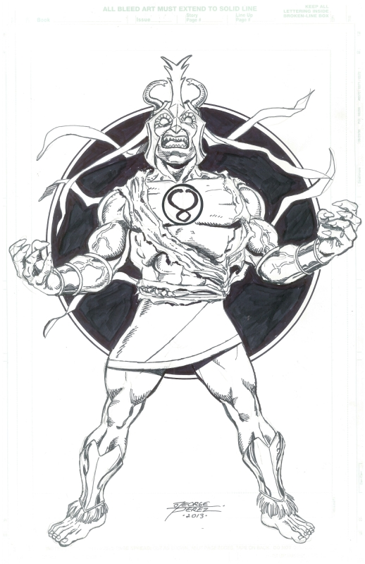 Thundercats: Mumm-Ra by George Perez Comic Art