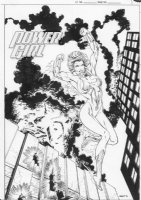 Power Girl Comic Art