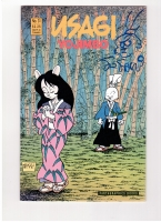 Usagi Yojimbo Signed Cover Sketch Comic Art