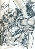 Hawkeye by Ken Lashley Comic Art