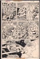 Fantastic Four 176, page 6 Comic Art