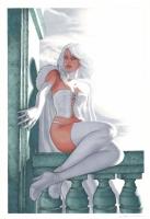Aype Beven Emma Frost Comic Art