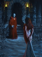 John Dotegowski Vampire Bait Nude Comic Art