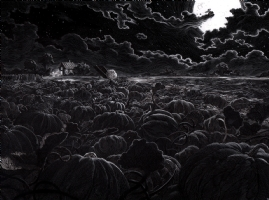Nicolas Delort - It's The Great Pumpkin, Charlie Brown, Comic Art