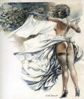 Paolo Eleuteri Serpieri Druuna Nude Comic Art