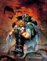 Simon Bisley Monstrosity And Creature Nude Comic Art