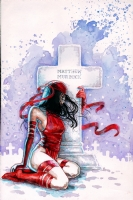 David Mack Daredevil - End Of Days 3 Cover, Comic Art