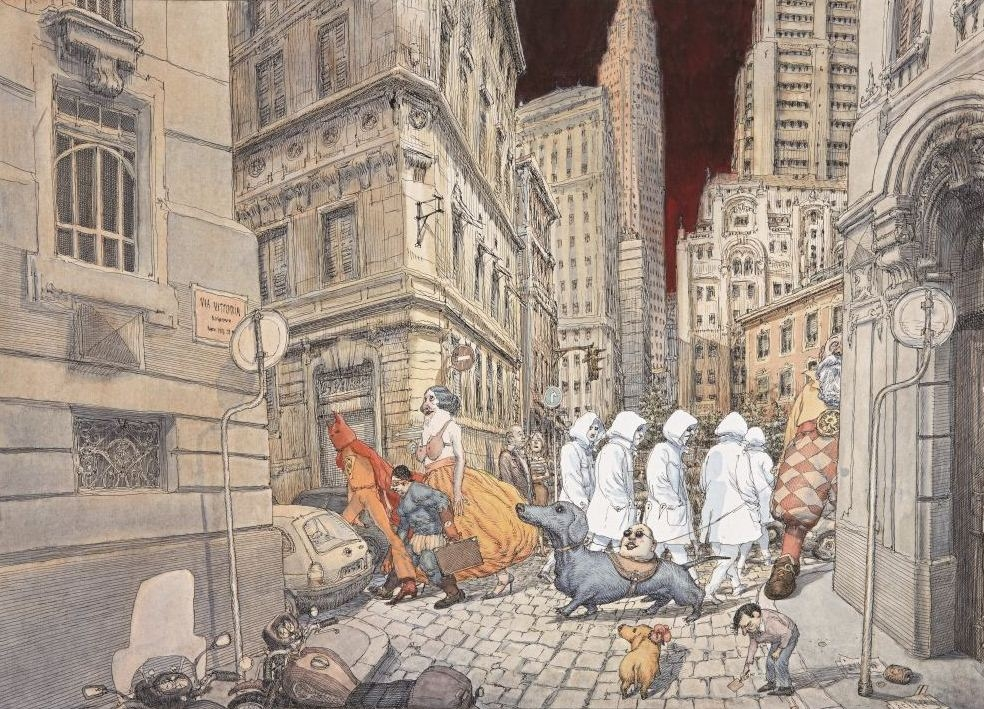 Illustration, illustrateurs (contemporains) Trieste