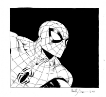 Spider Man Comic Art