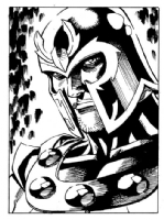 Magneto Comic Art