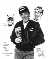 Bob Kane Batman Joker Comic Art