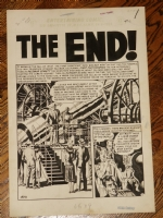 Wally Wood splash  The End  (EC) Comic Art