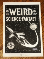 Feldstein Weird Science Fantasy Annual cover (EC) Comic Art