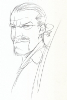 The Master, Anthony Ainley Version (Doctor Who) by Dustin Nguyen Comic Art