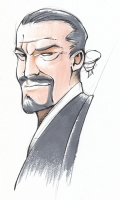 *UPDATED* The Master, Anthony Ainley version (Doctor Who) by Dustin Nguyen, Inks by Rich Perrotta, Color by Mike Moon Comic Art