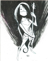 Marceline the Vampire Queen (Adventure Time) by Robbi Rodriguez Comic Art