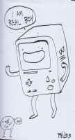 BMO/Beemo (Adventure Time) by Phil McAndrew Comic Art