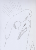 Jake the Dog (Adventure Time) by Jillian Tamaki Comic Art