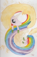 Lady Rainicorn (Adventure Time) by Cathy G. Johnson Comic Art