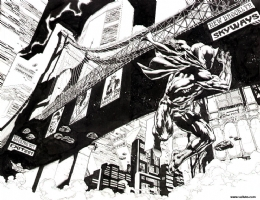 Black Panther_Issue 36_Pgs 20/21 Comic Art
