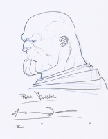 Thanos by Ariel Olivetti Comic Art