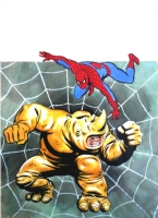 Rafael L�pez Esp�: Cover SPIDER-MAN Vertice Vol. 3 n�20 Comic Art