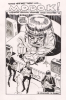 MODOK - Mediocre Original Drummer Once Knighted (2006) Tod Smith Comic Art