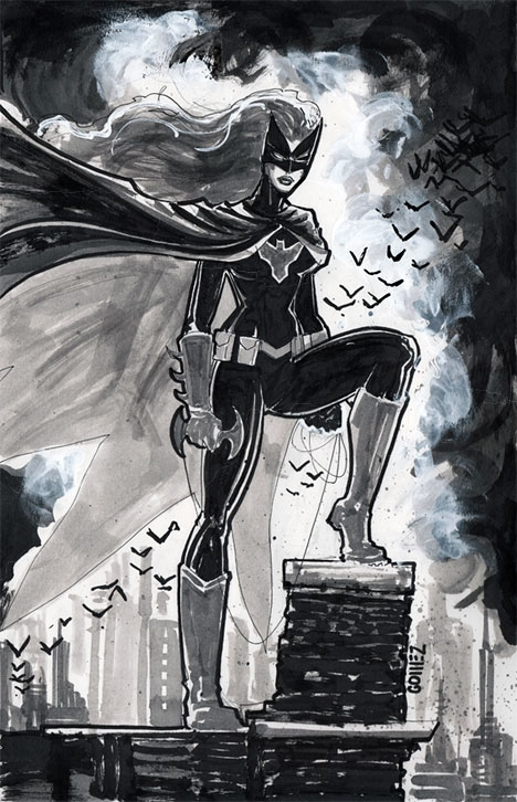 Batwoman by Joel Gomez Comic Art