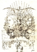 Game Of Thrones: Xmas Commision #01, Comic Art
