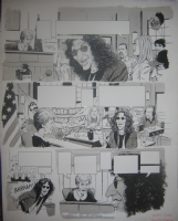 MAD #393 Howard Stern / Judge Judy p.2 Comic Art
