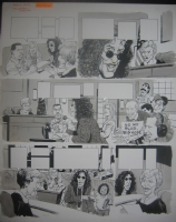 MAD #393 Howard Stern / Judge Judy p.3 Comic Art