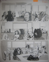 MAD #393 Howard Stern / Judge Judy p.4 Comic Art