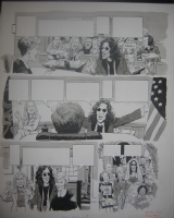 MAD #393 Howard Stern / Judge Judy p.5 Comic Art