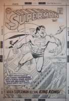 Superman #226 cover Comic Art