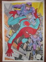 Jack Kirby Spider-Man Poster  Comic Art