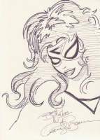 Spider-Woman ' I am not a statue !   Comic Art