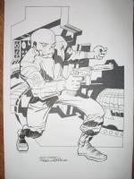 Red Skull Comic Art