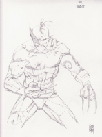 Dark Wolverine ( original sketch ) Comic Art