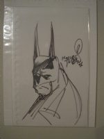 Kelley Jones - Batman (convention sketch) Comic Art