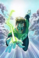 Green Lantern Original  ALEX ROSS TRADED Comic Art