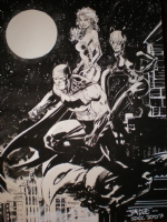 JIM LEE SSDC '07 BATMAN  SOLD Comic Art
