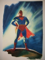 Steve Rude Superman SOLD Comic Art