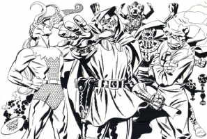 Steve Rude Marvel  SOLD Comic Art