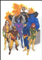 Phil Noto X-Men SOLD Comic Art