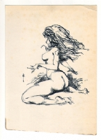 Frazetta Nude Comic Art